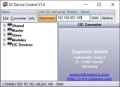 IIC Device Control